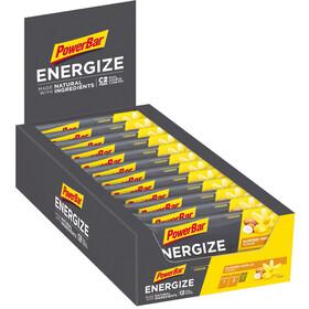 PowerBar Caja Barritas Energéticas Ingredientes Naturales 25x55g, Original Vanilla Almond
